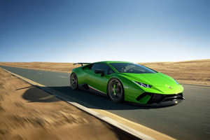 Lamborghini Huracan Performante 2020 4k Wallpaper
