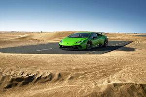 Lamborghini Huracan Performante 4k 2020 Wallpaper