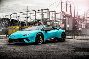 Lamborghini Huracan Performante 5k New Wallpaper