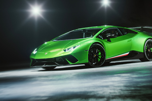 Lamborghini Huracan Performante Cgi 5k Wallpaper