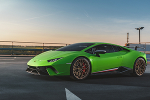 Lamborghini Huracan Performante Front 4k Wallpaper