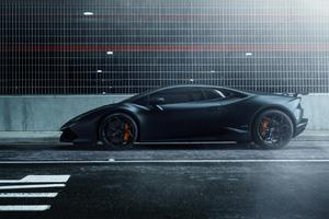 Lamborghini Huracan Road Side 4k