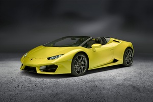 Lamborghini Huracan Rwd Spyder 2017