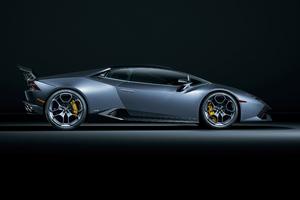 Lamborghini Huracan Side View 5k Wallpaper