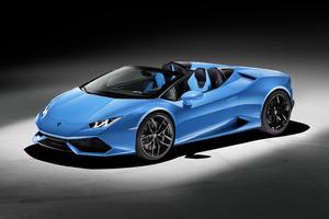 Lamborghini Huracan Spyder Convertible