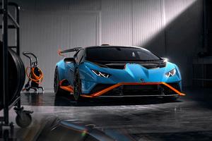 Lamborghini Huracan STO Edition Front Look 5k