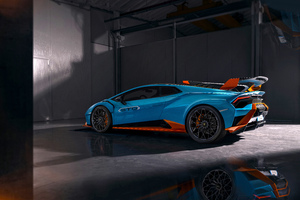 Lamborghini Huracan STO Edition Side Look 5k Wallpaper