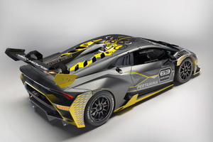 Lamborghini Huracan Super Trofeo EVO 2018 Rear Wallpaper