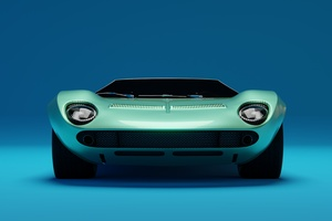 Lamborghini Miura Front
