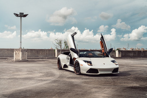 Lamborghini Murcielago Anrky WB Bens 8k Wallpaper