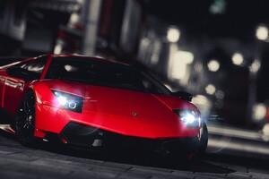 Lamborghini Murcielago LP 670 4 SV 4k