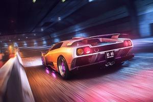 Lamborghini Neon