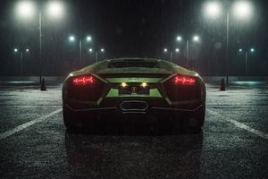 Lamborghini Reventon Rear Look 5k Wallpaper