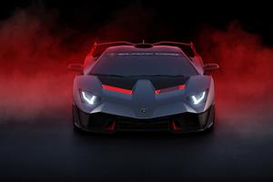 Lamborghini SC18 2018 Front Wallpaper