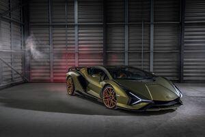 Lamborghini Sian 2021 5k