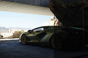 Lamborghini Sian 2021 Wallpaper