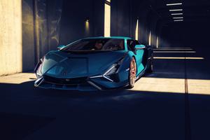 Lamborghini Sian 4k Wallpaper