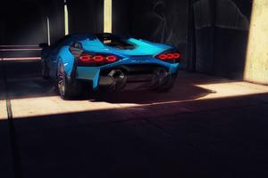 Lamborghini Sian Cgi Concept 5k Wallpaper