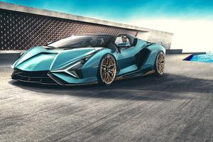 Lamborghini Sian Roadster 2020 Car New