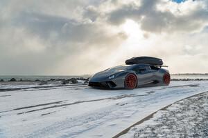Lamborghini Snow Cgi