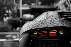 Lamborghini Tail Light Wallpaper