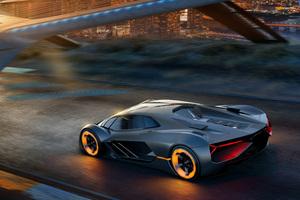 Lamborghini Terzo Millennio 2017 4k Wallpaper