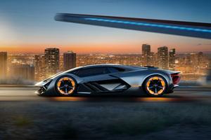 Lamborghini Terzo Millennio 2017 Concept Car