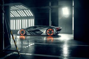 Lamborghini Terzo Millennio 2019 New Wallpaper
