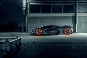 Lamborghini Terzo Millennio 2019 Side View
