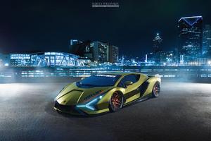 Lamborghini Terzo Millennio 2020 Wallpaper