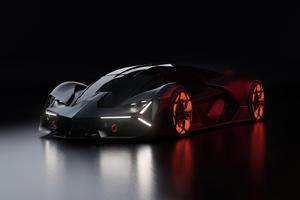 Lamborghini Terzo Millennio 2020 4k Wallpaper
