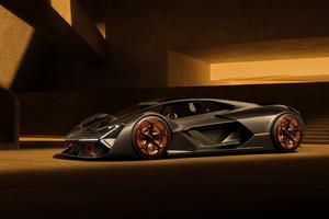 Lamborghini Terzo Millennio 4k 2020 Wallpaper