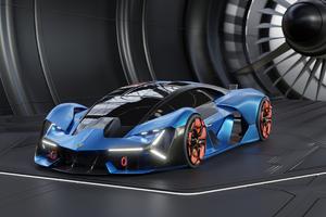 Lamborghini Terzo Millennio 4k New Wallpaper