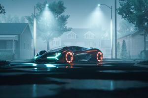 Lamborghini Terzo Millennio Concept Art 5k Wallpaper