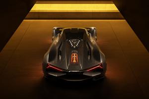 Lamborghini Terzo Millennio Rear 2020