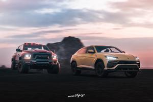 Lamborghini Urus And Ram 4k