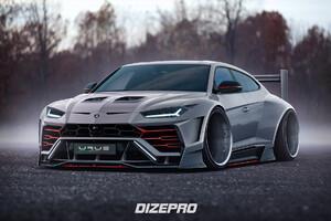 Lamborghini Urus Artwork