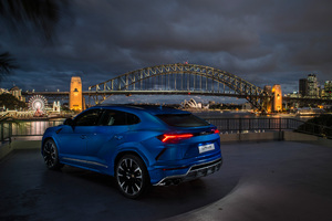 Lamborghini Urus Body Color Package 2018 Rear