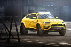 Lamborghini Urus Concept Art 4k