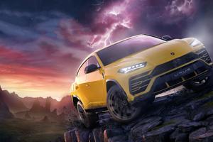 Lamborghini Urus Forza Horizon 4 Fortune Island