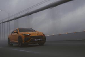 Lamborghini Urus SUV Orange