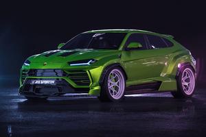 Lamborghini Urus Wide Body 4k