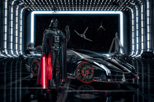 Lamborghini Veneno Darth Vader Wallpaper