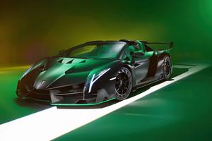 Lamborghini Veneno Roadster 2021 8k Wallpaper