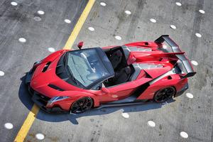 Lamborghini Veneno Roadster HD Wallpaper