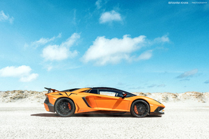 Lamborghini Yellow Side View Wallpaper
