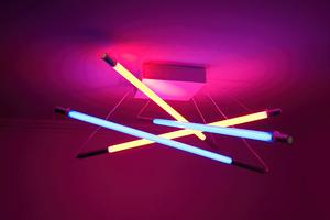 Lamp Neon Lights 4k Wallpaper