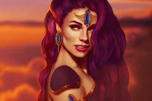 Lana Solaris Fantasy 4k