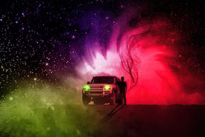Land Rover Defender Manipulation 4k Wallpaper
