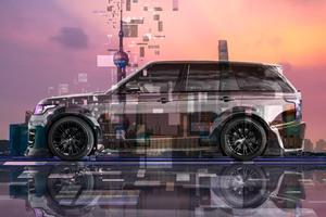 Land Rover Range Rover Tuning Lumma Side Super Crystal Shanghai China